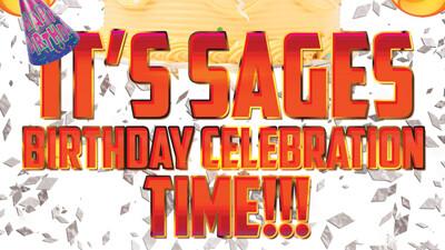Sages Birthday Celebration Time!