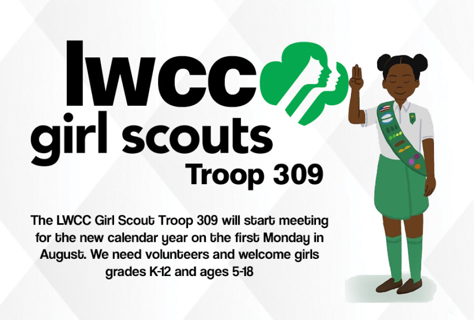 LWCC Girl Scouts Troop 309