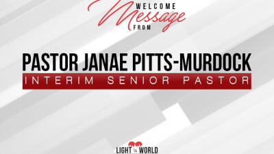A Welcome Message from Interim Pastor Janae Pitts-Murdock