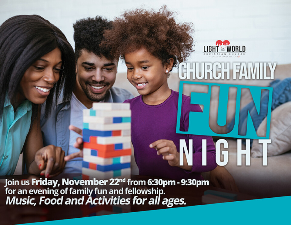 CHURCH FAMILY FUN NIGHT