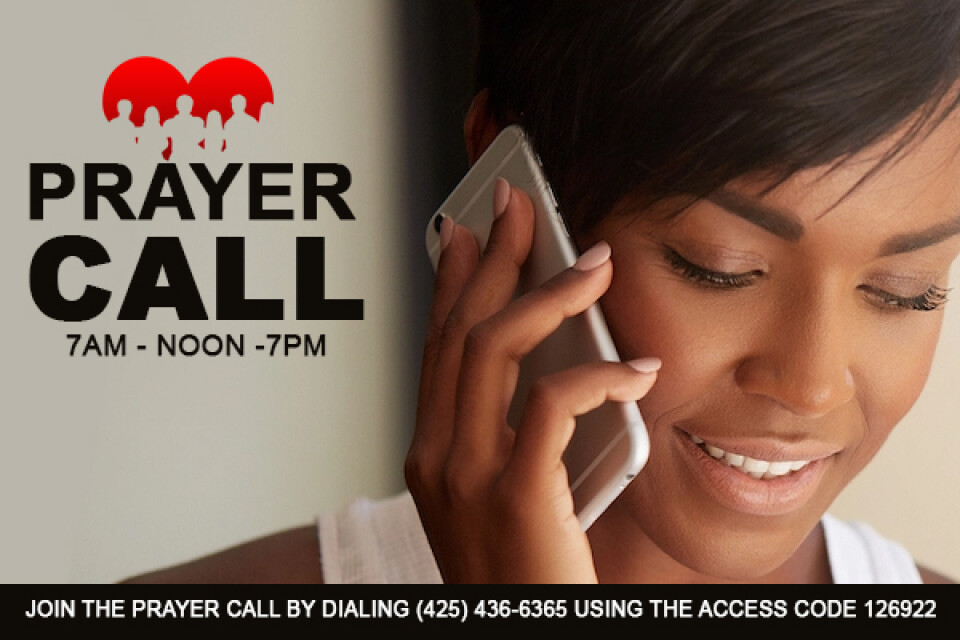 12 pm Prayer Call