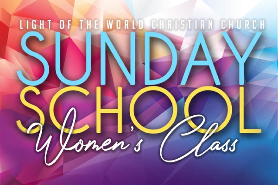 Women's Sunday School Class