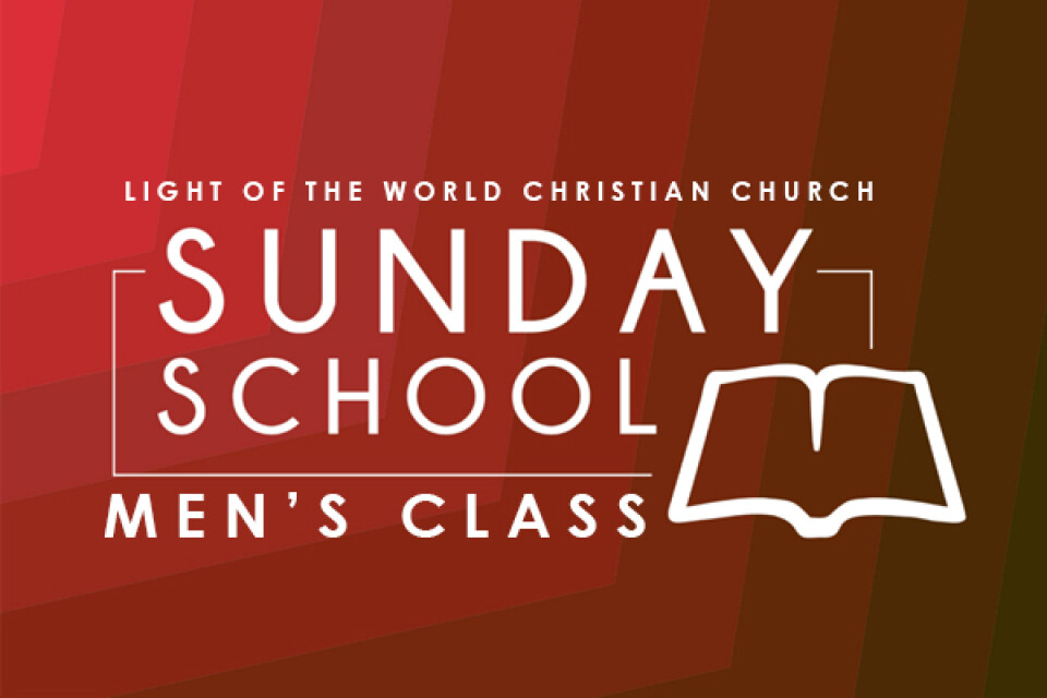 Men's Sunday School Class