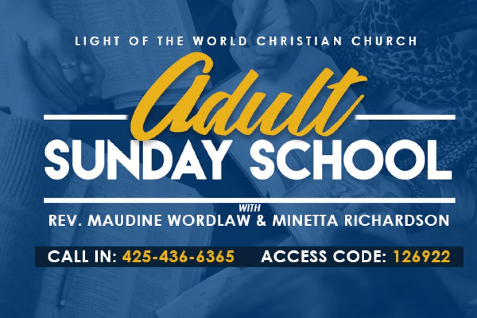 Adult Sunday School Class