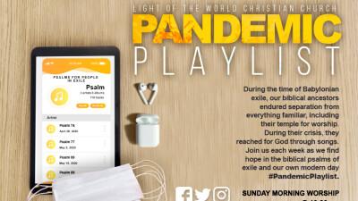 Pandemic Playlist Week 5 - Psalm 130