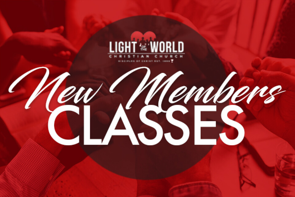 New Members Classes