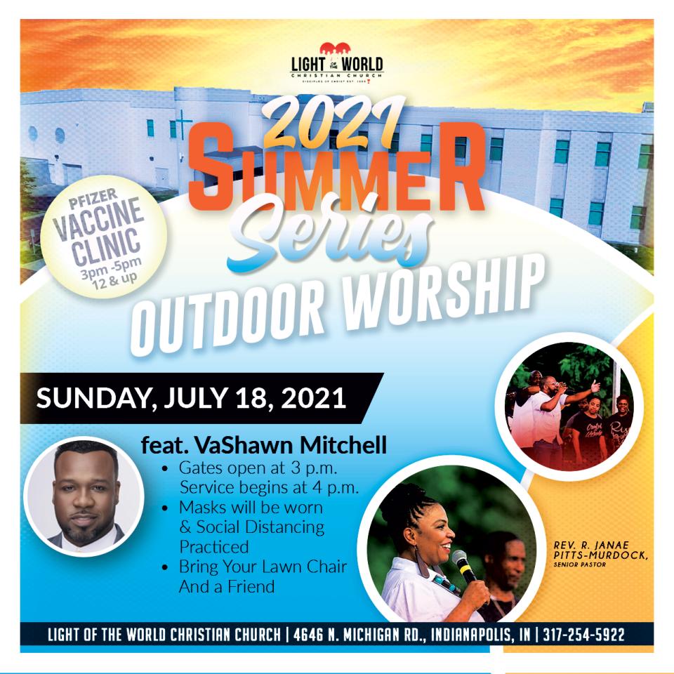 July 2021 Summer Series - Outdoor Worship