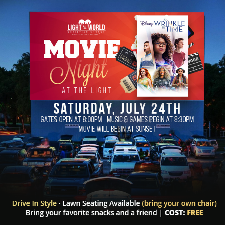 Movie Night at the Light: A Wrinkle in Time
